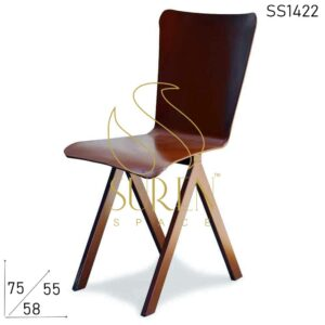 SS1422 Suren Space All Metal Solid Frame Outdoor Iron Chair