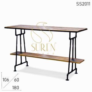 SS2011 Suren Space Industrial Pipe Design Long Bar Pub Table Furniture