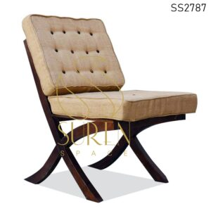 SS2787 Suren Space Wooden Frame Hotel Balcony & Room Rest Chair