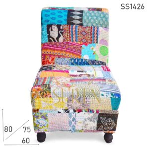 SS1426 Suren Space Multicolored Traditional Fabric Restaurant Lounge Sofa Design