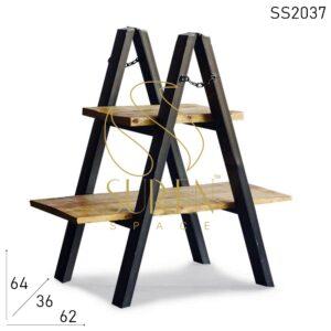 SS2037 Suren Space Unique Design Compact Design Metal Industrial Side Table