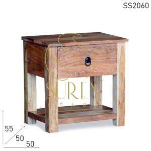 SS2060 Suren Space Solid wood Carved Resort Room Bedside